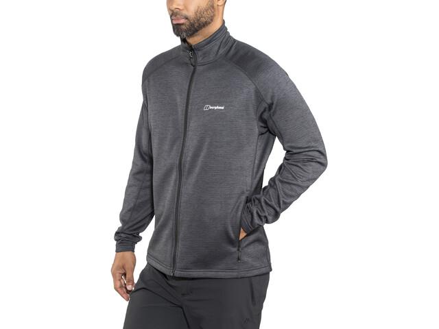 Berghaus Spitzer InterActive Fleece Jacket Men black/carbon